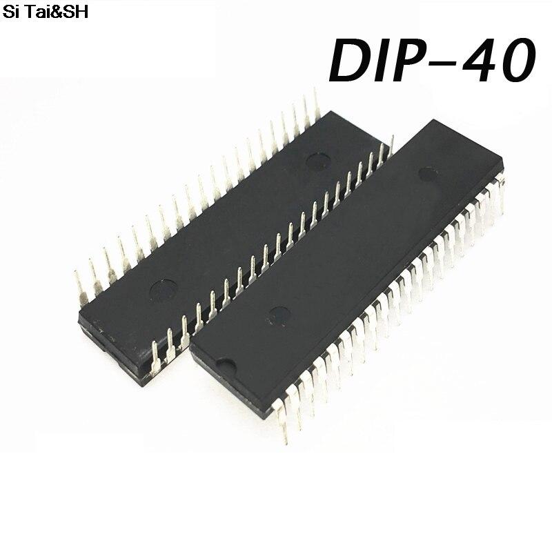 MC68B45P PROCESSOR PDIP40 / 68B45 processor / 6845 old cpu . Electronic Component