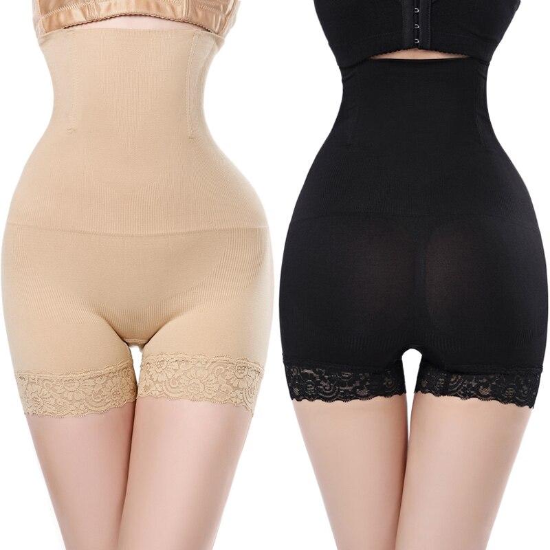 Seamless Sheath Women Body Shaper Control Panties Slimming Shapewear Brief High Waist Belly Control Shapewear Pants Shorts
