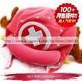 Anime One Piece Tony Chopper Two Yeas Later Version Reindeer Plush Cap Hat Toy