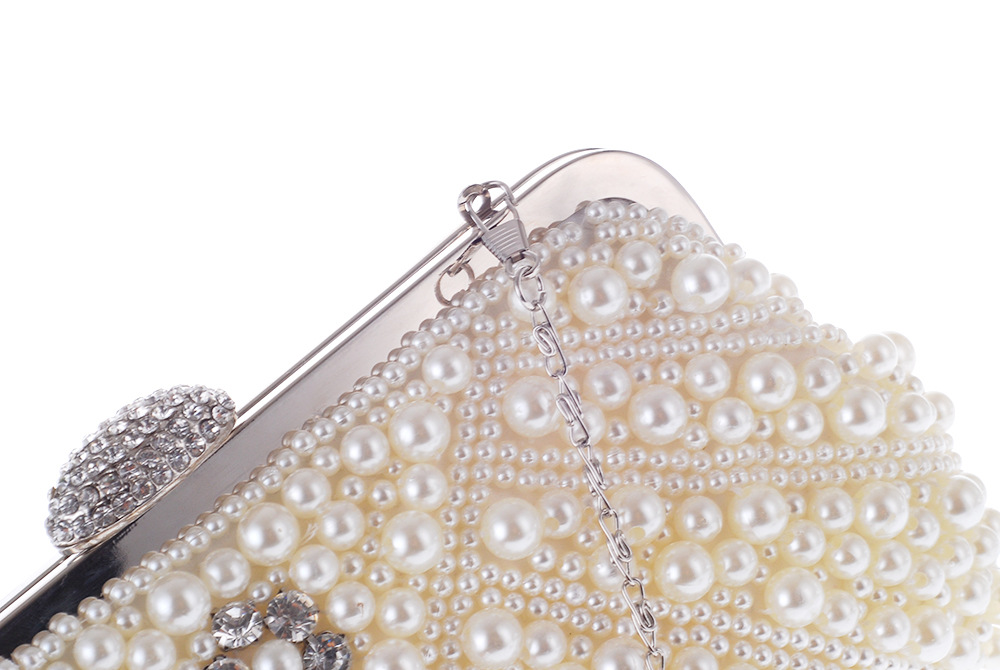 Korean pearl exquisite Dinner Bag temperament dress bag banquet hand bag  chain bag-in Top-Handle Bags from Luggage   Bags on Aliexpress.com  ccc7460a70a2
