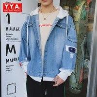 2018 New Spring Autumn Men S Jeans Jacket Korean Style Denim Coat Stonewashed Jeans Jacket Men