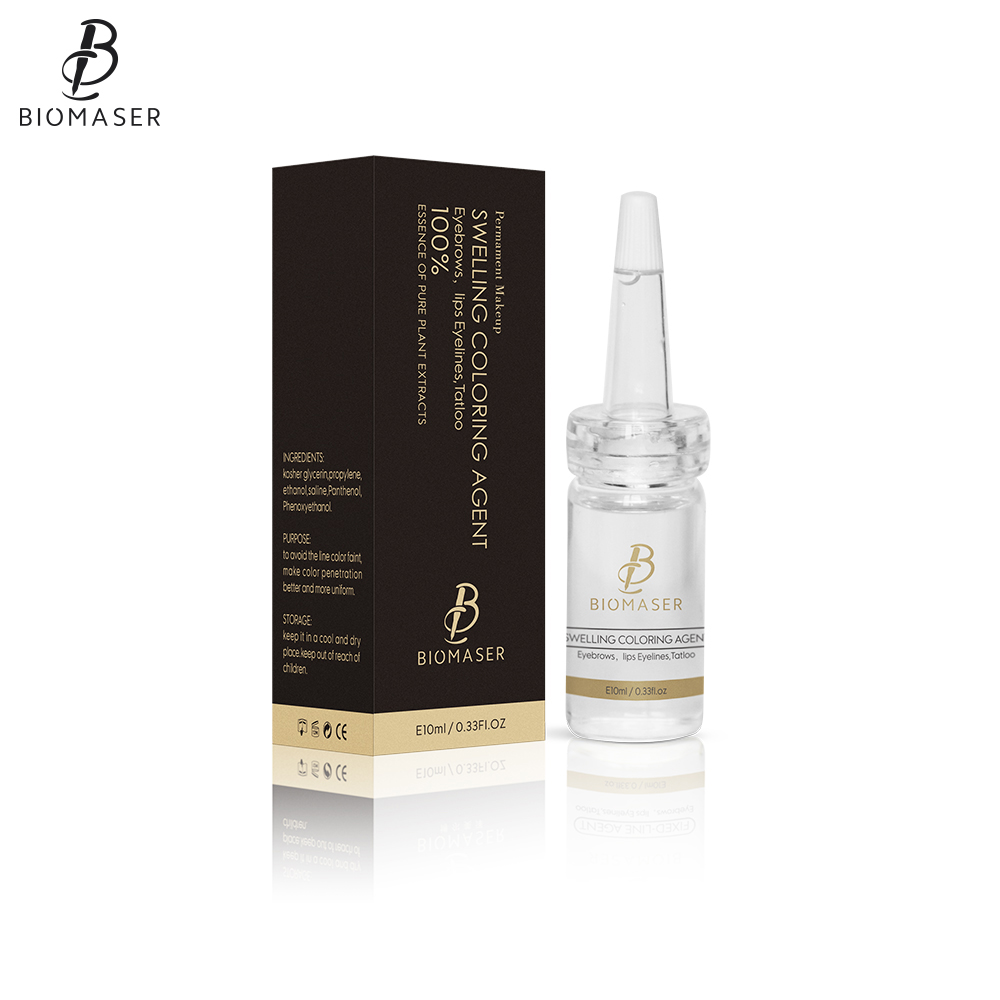 Biomaser Professional Tattoo Aftercare Swelling Coloring Agent Permanent Makeup Eyebrow Lips Repair Coloring Agent Tattoo Supply