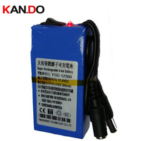 CE ROHS MSDS DC 12V battery,3000 Mah capacity high volume lithium battery pack smart power battery