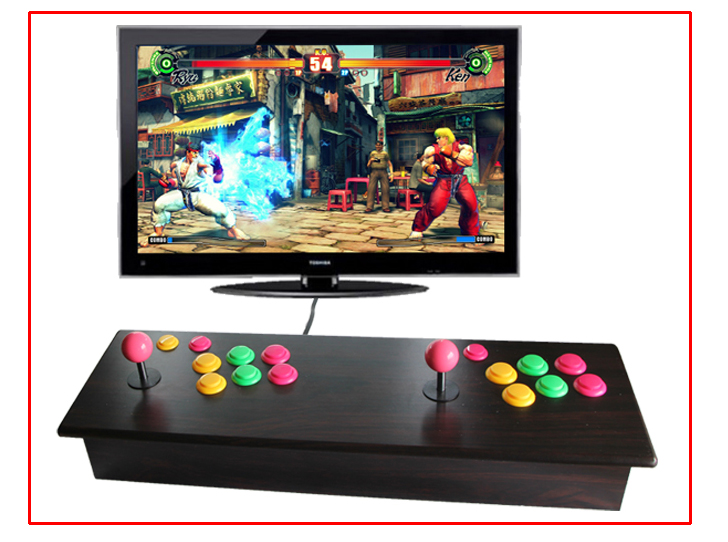 2015 NEWEST Double player arcade machines / Family Professional classic video game machine AV out /  video game console