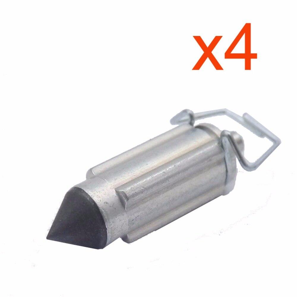 4 Pcs Carburetor Valve Needles Repair Part For PZ26 PZ27 PZ30 PZ19 CG125 GY6 50 125CC GN125 Mikuni Keihin Carb Motorcycle Parts Карбюратор