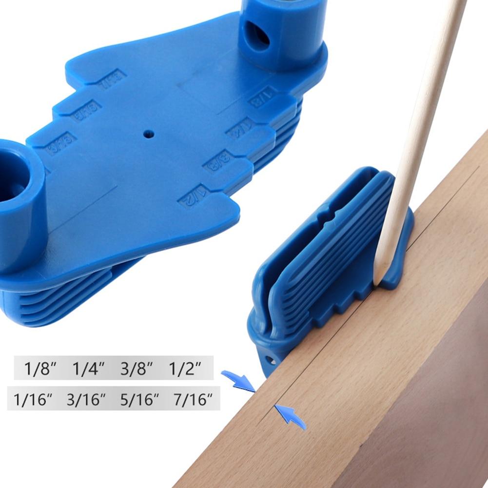 Multi-function Carpenter Woodworking Tool Marking Measurement Light Weight Connection Alignment Line Center Gauge Finder Locator