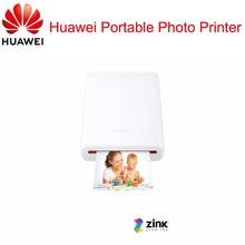 AR drukarka 300Dpi oryginalny dla Huawei Zink przenośna drukarka fotograficzna Honor kieszonkowy drukarka Bluetooth 4.1 wsparcie DIY udostępnij 500mAh
