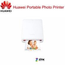AR yazıcı 300Dpi orijinal Huawei çinko taşınabilir fotoğraf yazıcısı onur cep yazıcı Bluetooth 4.1 destek DIY payı 500mAh