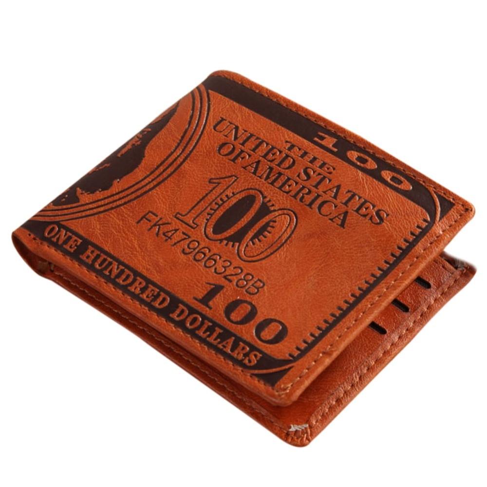 couro carteiras masculino carteira carteira Interior : Passcard Pocket, bolso Interior do Entalhe, coin Pocket, note Compartment, suporte de Cartão