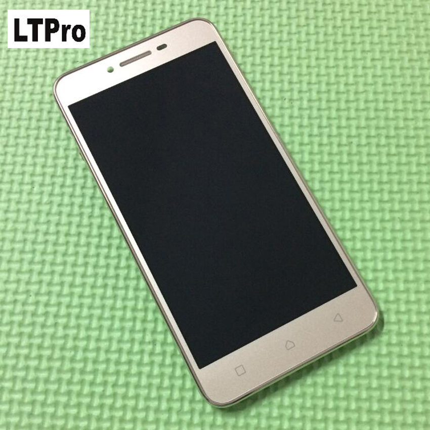 High Quality LCD Display Touch Screen Digitizer Assembly With Frame For Lenovo Vibe K5 Plus A6020a46