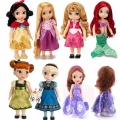Princess Animators Sharon Doll Princess Sofia Snow White Ariel Rapunzel Merida Cinderella Aurora Belle Princess dolls for Girl