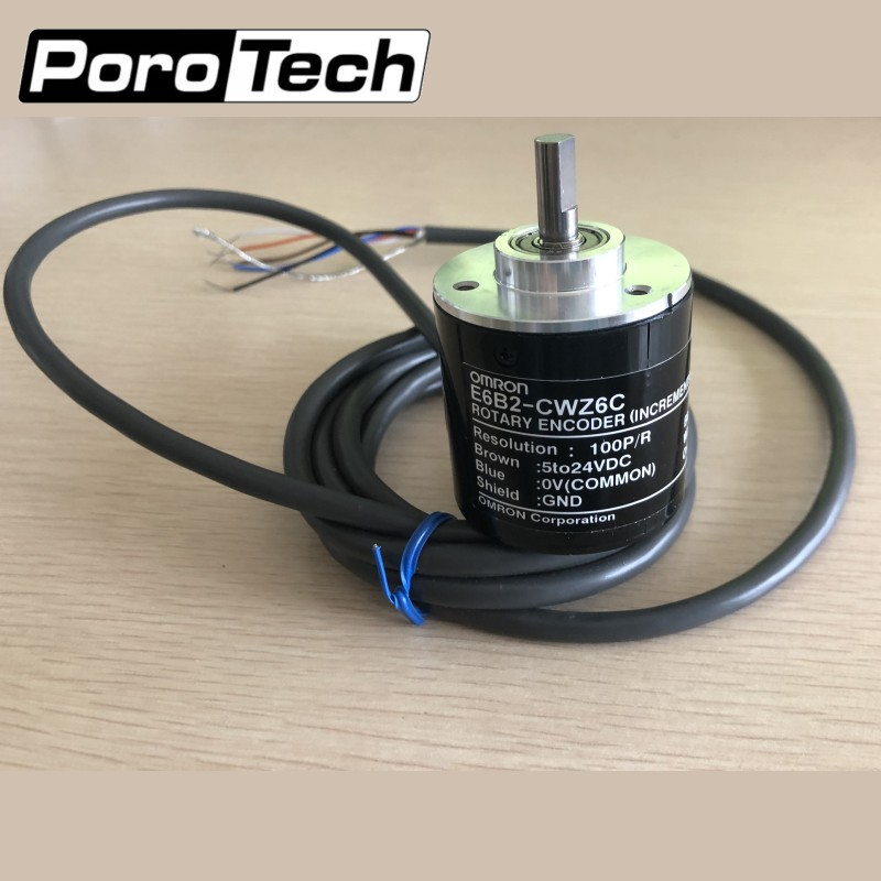 E6B2-CWZ6C 100P/R OMRON Incremental Rotary Encoder For Pipeline Inspection System Recording Core Board