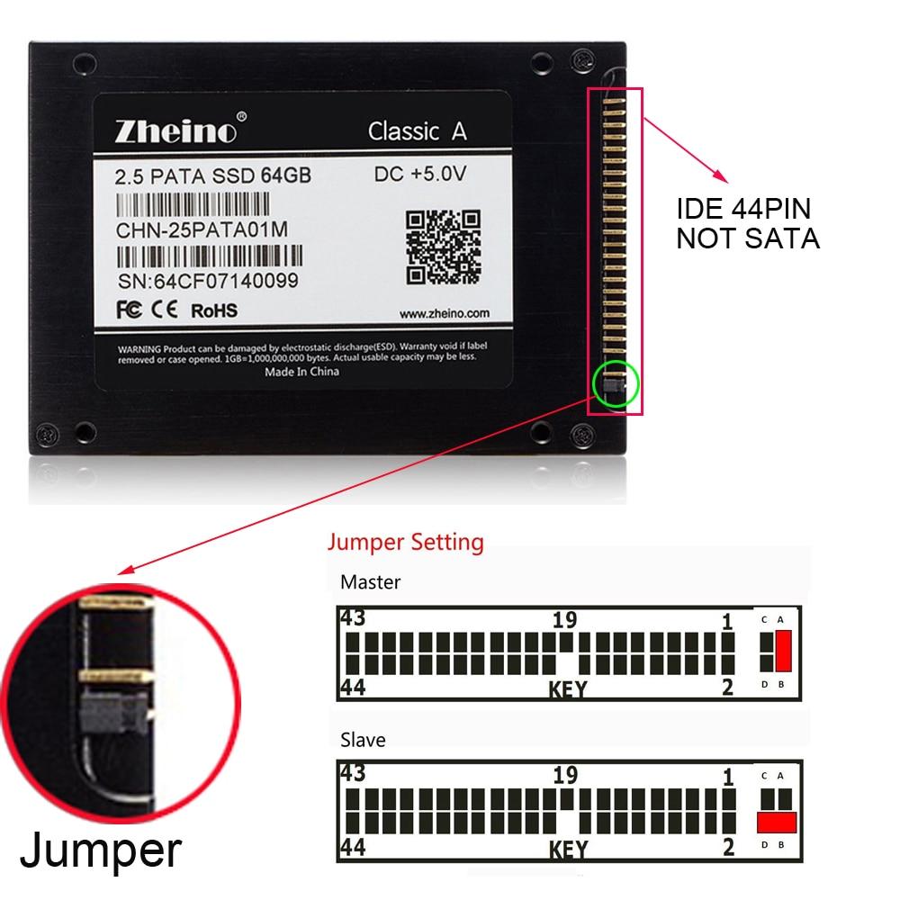 Angemessen Zheino 2,5 44 Pins Ide Pata 64 Gb Ssd Mlc Nand Flash Interne Solid State Drives Festplatte Für Dell D610 D810 Hp Ibm T41 T43 Wasserdicht StoßFest Und Antimagnetisch Speicherkarten & Ssd