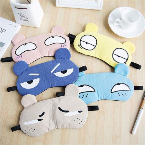 Masken Bekleidung Zubehör Kreative Eyeflash Maske Reise Nachtwäsche Flanell Augenbinde Lustige Geschenk Party Schlaf Patch Blinder Schlaf-beihilfen Augen Maske Abdeckung Knitterfestigkeit
