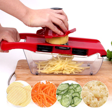 Mandoline Slicer Manual Vegetable Cutter with 6 Blades Multifunctional slicer Potato Onion Kitchen Accessories