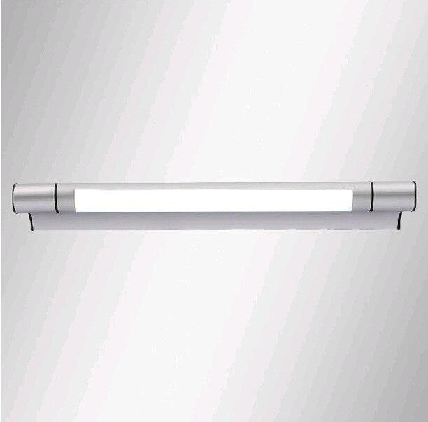 Modern Minimalist Bathroom Interior Aluminum Elongated Mirror Light Lights Wall Lamp Lead