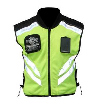 Reflective vests 360 Degrees High Visibility Neon Safety Vest Belt Safety Vest Fit For Running motorcycle Cycling Sports Outdoor sports safety warning vest fluorescent riding clothes motorcycle reflective vests