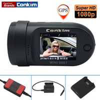 Dash Camera Mini 0807 Ambarella A7 1080P Full HD 1 5 LCD 24 Hours Parking DVR