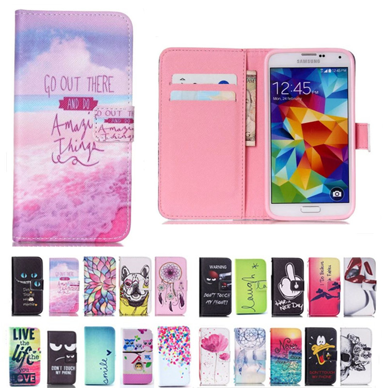 Phone-Case Flip-Cover Leather Wallet Samsung Galaxy For Neo G903F