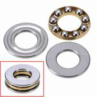 10pcs/set High Precision Miniature Thrust Bearing F8-16M Axial Metal Ball Bearings 8x16x5mm