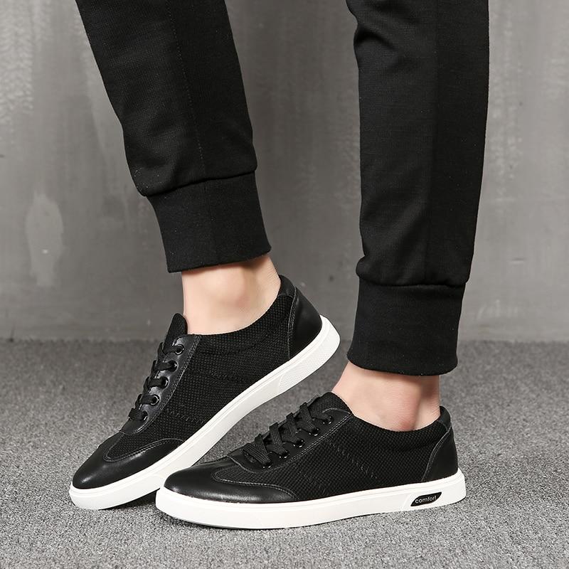 up Lumière Noir Printemps Chaussures Tenis Heinrich masculino Mode Luxe Sneakers Casual Arrivée Hommes Nouvelle Extérieur De Marque Dentelle OikXZTPu