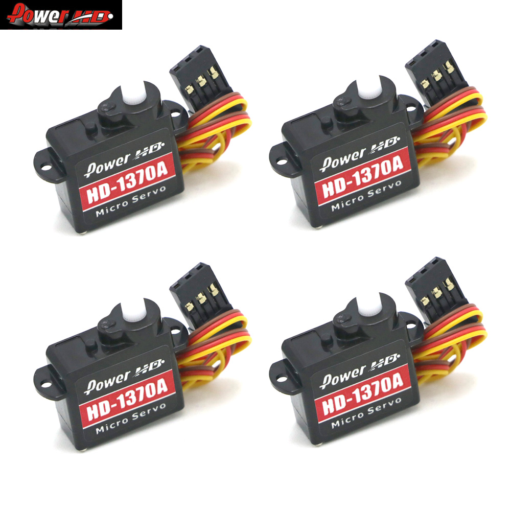 4pcs/lot Power HD HD-1370A Micro Mini Servo 3.7G Servo For F3P EP200+