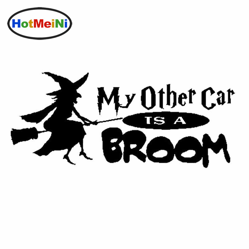 Car Styling Witch My Other Car Is A Broom Car Truck