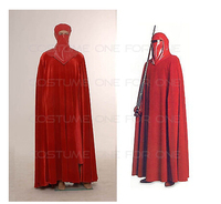 2016 Star Wars Revenge of Sith Cosplay Costume Emperor Royal Guard Red Robe Cloak Outfit