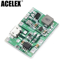 1PCS Lithium Li-ion 18650 3.7V 4.2V Battery Charger Board DC-DC Step Up Boost Module