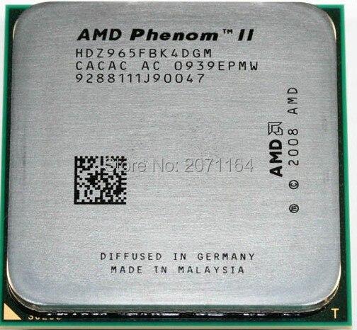 Бесплатная доставка для AMD X4 945 AM3 938-контактный четырехъядерный процессор 95 Вт L3 = 6 М настольный компьютер CPU
