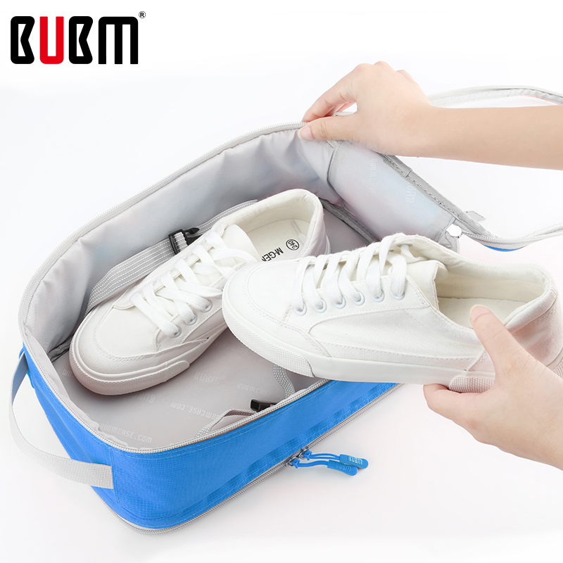 BUBM étanche à la poussière chaussures sac boîtes sac à main accessoires de voyage coloré