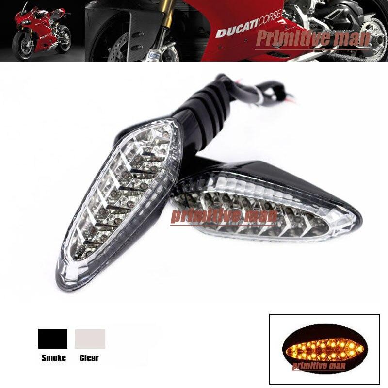 Para DUCATI 848 899 1099 S 1199 Accesorios de La Motocicleta LED de Señal de Gir