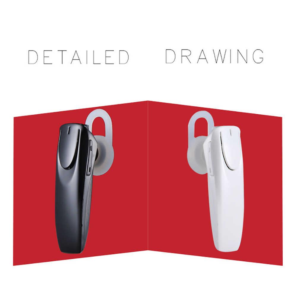 Kebidu nuovo senza fili di bluetooth del trasduttore auricolare Ear-hook Handsfree Affari auricolare con il mic di Sport auricolari bluetooth Per Il iphone Samsung