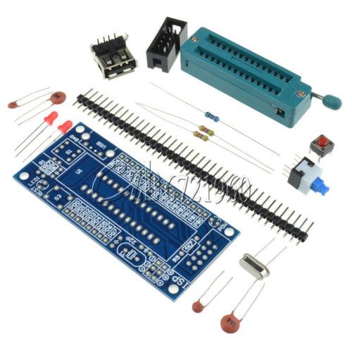 ATmega8 ATmega48 ATMEGA88 Development Board AVR DIY Kit m48 adp atmega48 atmega88 atmega168 tqfp32 avr programming adapter test socket