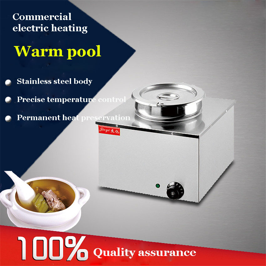 1PC FY-BO-1A Stainless Steel Soup Pot 11L Thickening Soup Cooker Stoves General Sauceboxes Soup Cooker Steamer Inox