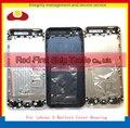 Reemplazo para iphone 5 5g batería cubierta de la contraportada puerta Trasera Cubierta Del Chasis Marco Blanco Negro Oro Rosa Libre gratis