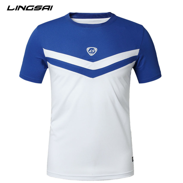 dry fit men t shirt LINGSAI 2016 new arrival fashion casual short ...