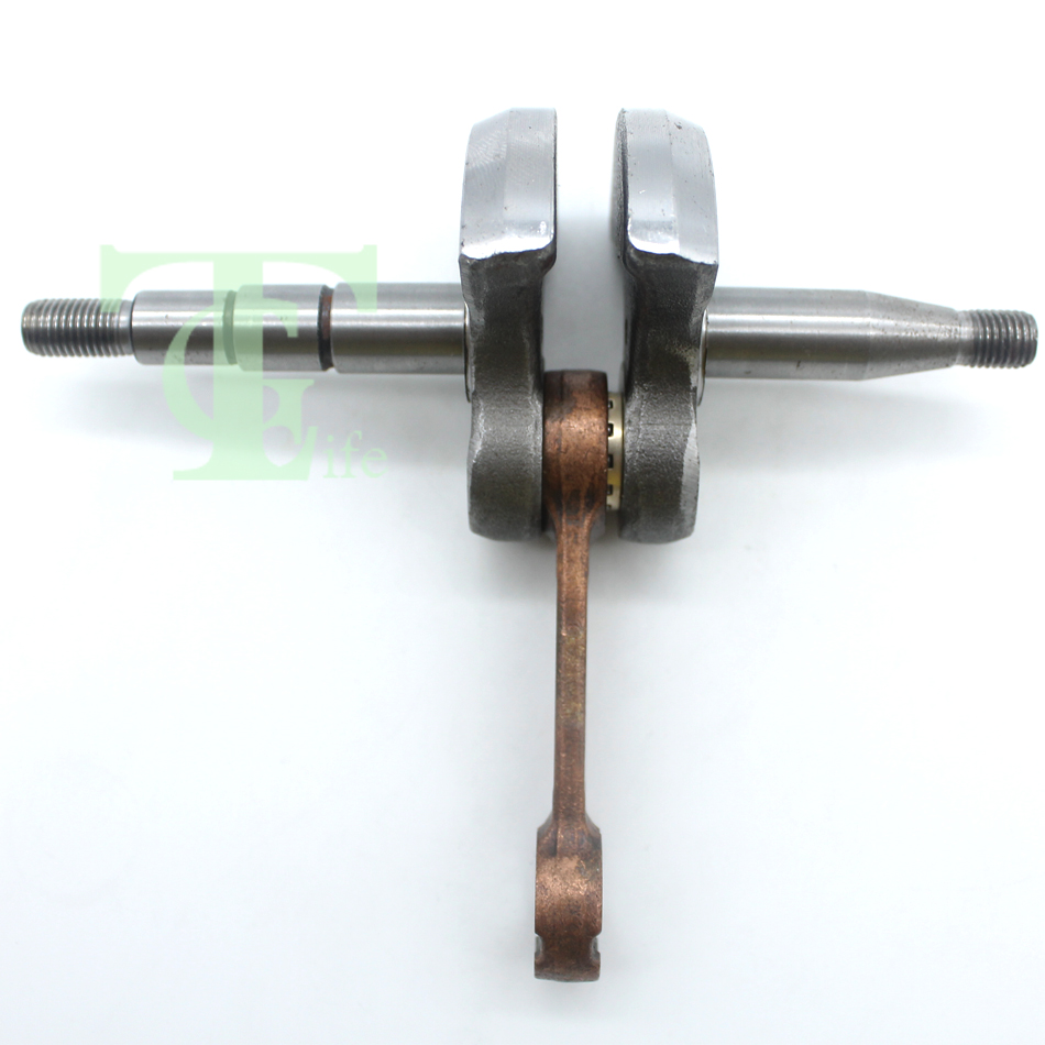 Crankshaft Crank Shaft For HUSQVARNA 141 136 142 137 36 41 Chainsaw Chain Saws Parts Replace 530029794