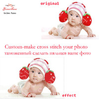 Photos Custom Make Your Own Photo Cross Stitch Needlework DIY DMC Cross Stitch Sets For Embroidery
