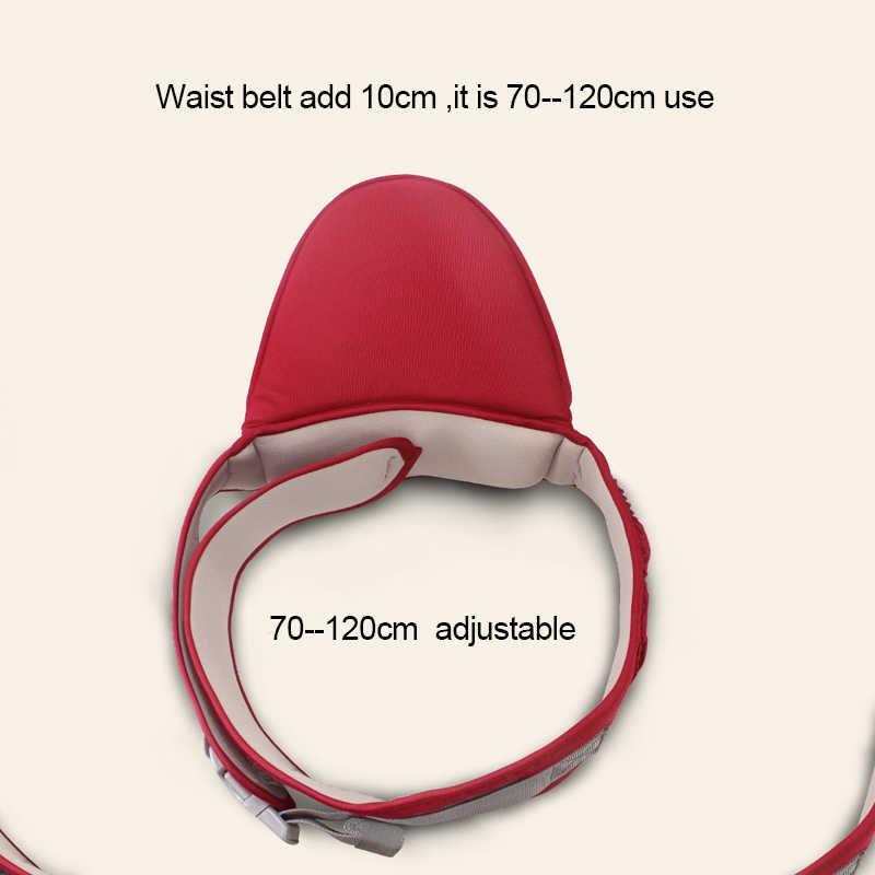 70-120cm cinturón de bebé portador de la cintura taburete para caminar cabestrillo para sujetar la correa de la cintura mochila cinturón de seguridad para niños asiento de cadera infantil