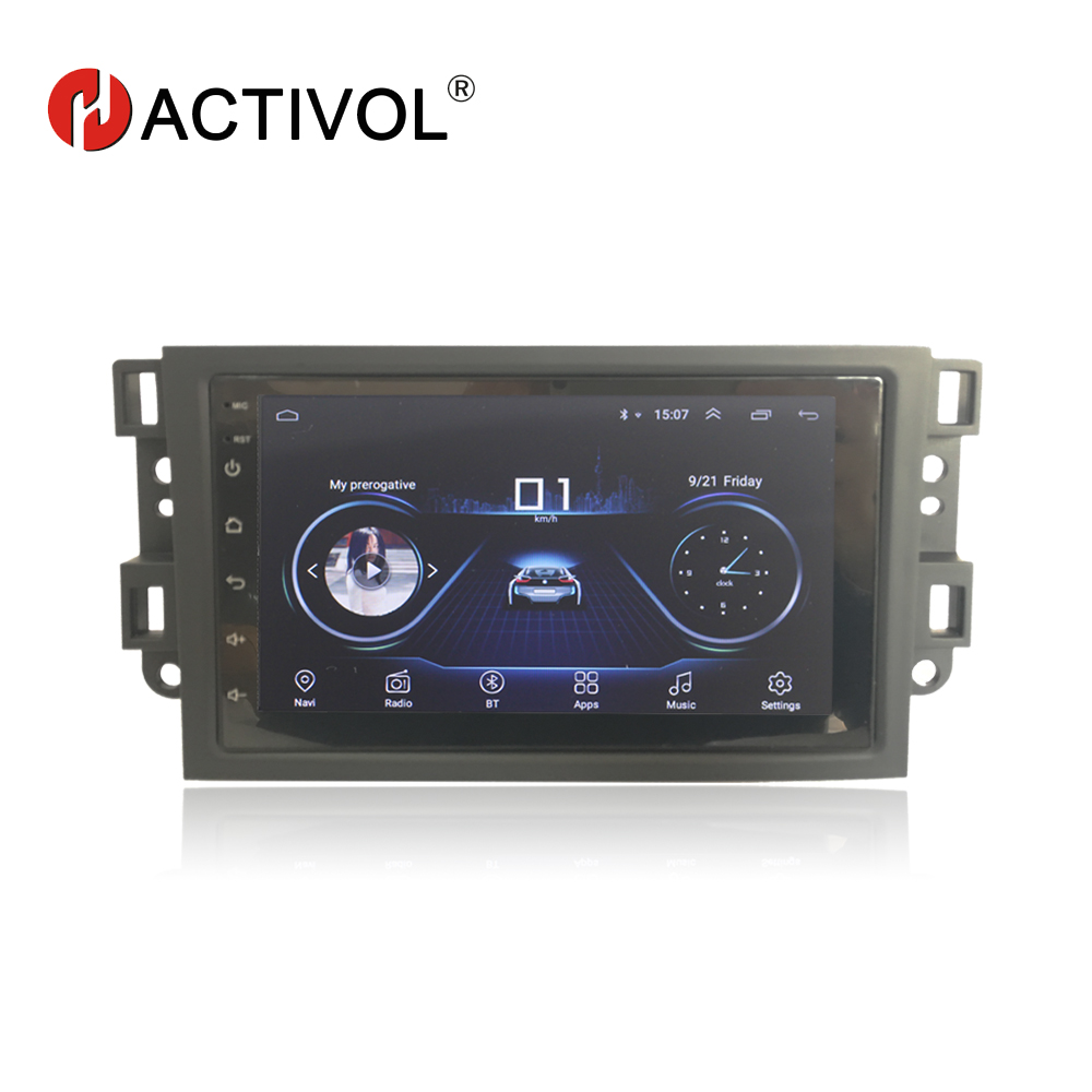 Hactivol 2 din car accessories car radio for Chevrolet Lova Captiva Gentra Aveo Epica 2006 2011
