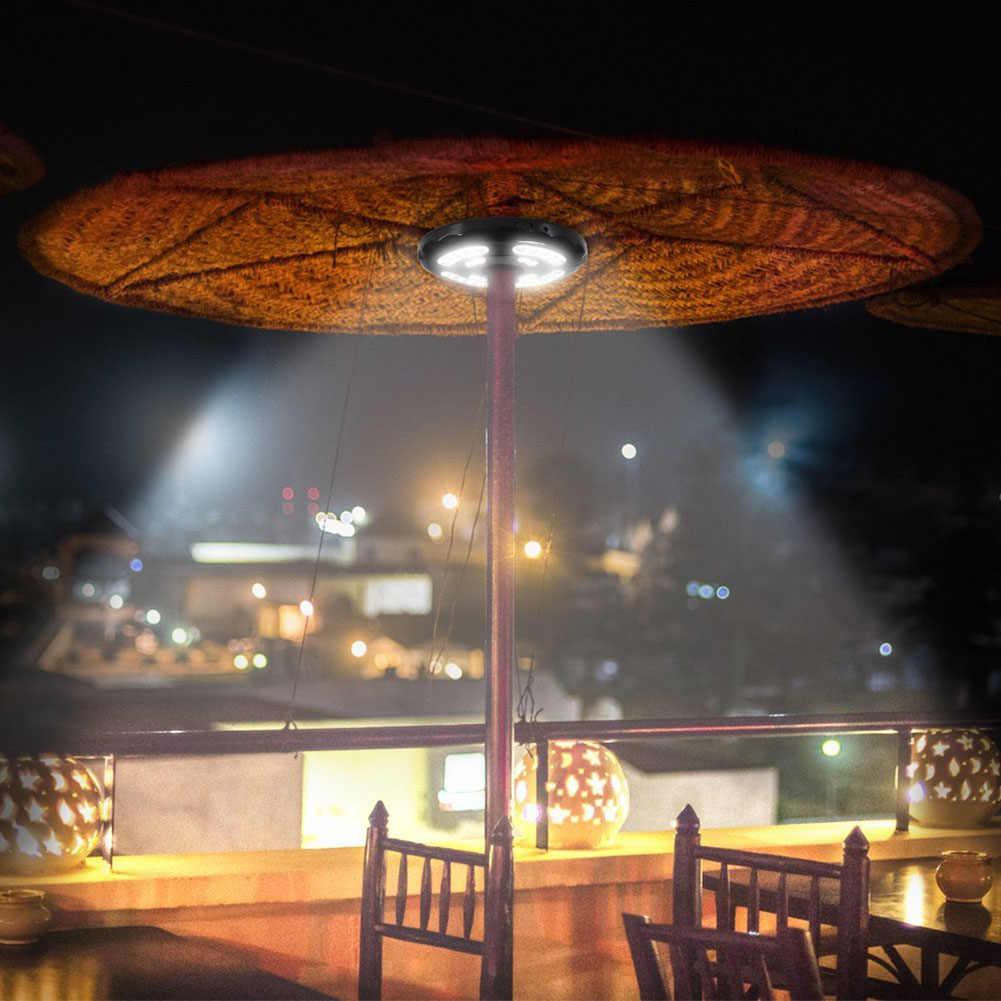 28 светодиодов, зонтик для патио, беспроводной светильник для патио, зонты для кемпинга, палатки для улицы, распродажа