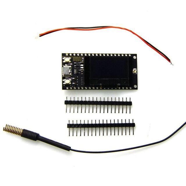Ttgo Lora SX1278 ESP32 0.96 OLED mt 16 байтов (128 mt бит) 433 мГц для Arduino