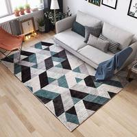 Nordic Simplicity Polypropylene Carpet Home Decoration Bedroom Rug Sofa Coffee Table Floor Mat Office Soft Carpets Study Rugs