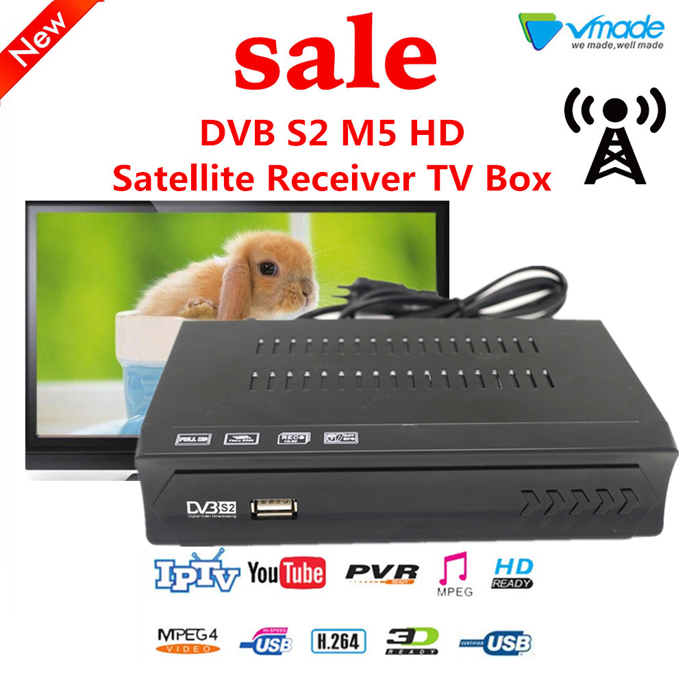 US $9 42 27% OFF|Vmade Openbox DVB S2 M5 decoder Digital Satellite Receiver  TV BOX Support Youtube,BissKey,CCCAM,NEWCAM,YOUPORN,PVR SET TOP BOXES-in