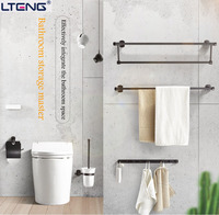 LTENG ванная комната аппаратных кулон набор включает вешалка для полотенец, вешалка для полотенец, треугольник Корзина, туалет, ершик для унит