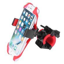 Soporte para manillar de bicicleta soporte Universal multifuncional de bicicleta MTB para motocicleta móvil de montaña soporte de silicona para teléfono móvil