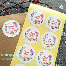 ФОТО 1/lot  product circular stickers Thank you sealing sticker baking package cake box decoration