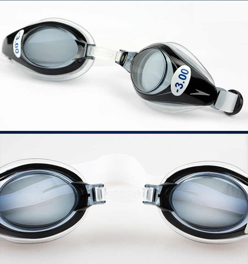 da408e1861 ... Speedo Myopia Swimming Goggles Mariner Optical Goggles Pulse Waterproof  Swim Goggles For Men Women 150~ ...