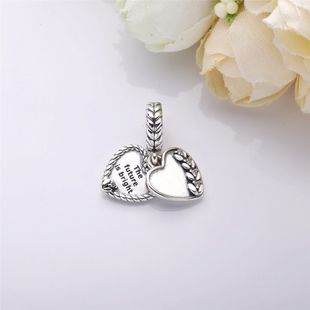 1331b0b8d Slovecabin 2018 Autumn Grains Harvest 925 Sterling Silver Bright Seeds  Heart Charms Beads Fit For Pandora Bracelet Dangle Charms |  jewelrybox.dropgecko.com